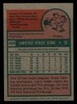 1975 Topps Mini #420  Larry Bowa  Back Thumbnail