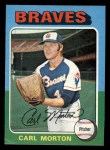 1975 Topps Mini #237  Carl Morton  Front Thumbnail