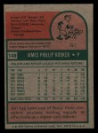 1975 Topps Mini #148  Jim Rooker  Back Thumbnail
