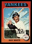 1975 Topps Mini #375  Roy White  Front Thumbnail