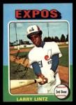 1975 Topps Mini #416  Larry Lintz  Front Thumbnail