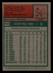 1975 Topps Mini #565  Joe Torre  Back Thumbnail
