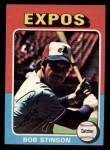 1975 Topps Mini #471  Bob Stinson  Front Thumbnail
