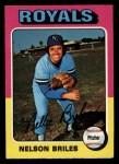 1975 Topps Mini #495  Nelson Briles  Front Thumbnail