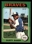 1975 Topps Mini #33  Dusty Baker  Front Thumbnail