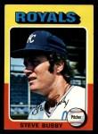 1975 Topps Mini #120  Steve Busby  Front Thumbnail