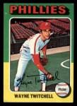 1975 Topps Mini #326  Wayne Twitchell  Front Thumbnail