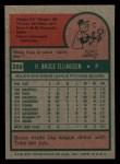1975 Topps Mini #288  Bruce Ellingsen  Back Thumbnail
