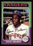 1975 Topps Mini #435  Dave Nelson  Front Thumbnail