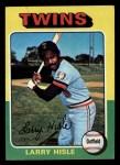 1975 Topps Mini #526  Larry Hisle  Front Thumbnail