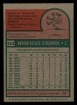 1975 Topps Mini #583  Andy Etchebarren  Back Thumbnail
