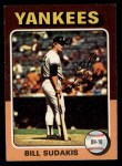 1975 Topps #291  Bill Sudakis  Front Thumbnail
