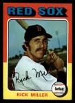 1975 Topps #103  Rick Miller  Front Thumbnail