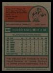 1975 Topps #503  Fred Stanley  Back Thumbnail