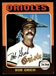 1975 Topps #225  Bobby Grich  Front Thumbnail