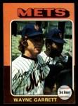 1975 Topps #111  Wayne Garrett  Front Thumbnail