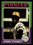 1975 Topps #336  Rennie Stennett  Front Thumbnail