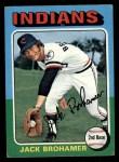 1975 Topps #552  Jack Brohamer  Front Thumbnail