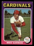 1975 Topps #584  Mike Garman  Front Thumbnail