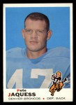 1969 Topps #261  Pete Jaquess  Front Thumbnail