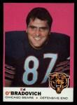 1969 Topps #95  Ed O'Bradovich  Front Thumbnail