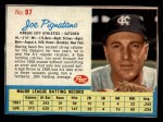 1962 Post #97  Joe Pignatano   Front Thumbnail