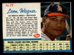 1962 Post #77  Leon Wagner   Front Thumbnail