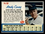 1962 Post Cereal #52  Andy Carey   Front Thumbnail