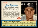 1962 Post #97  Joe Pignatano   Front Thumbnail