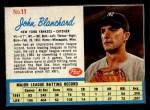 1962 Post #11  John Blanchard   Front Thumbnail