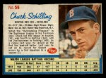 1962 Post #56  Chuck Schilling   Front Thumbnail