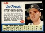 1962 Post Cereal #96  Leo Posada   Front Thumbnail