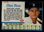 1962 Post #16  Steve Boros   Front Thumbnail