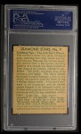 1935 Diamond Stars #9  Mickey Cochrane   Back Thumbnail