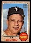 1968 Topps #562  Jim Bouton  Front Thumbnail