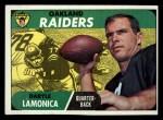 1968 Topps #194  Daryle Lamonica  Front Thumbnail