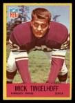1967 Philadelphia #107  Mick Tingelhoff  Front Thumbnail