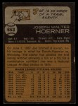 1973 Topps #653  Joe Hoerner  Back Thumbnail