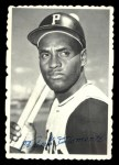 1969 Topps Deckle Edge #27  Roberto Clemente  Front Thumbnail