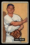 1951 Bowman #78  Early Wynn  Front Thumbnail