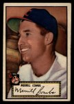 1952 Topps #18 BLK Merrill Combs  Front Thumbnail
