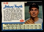 1962 Post #38  Johnny Temple   Front Thumbnail