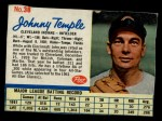 1962 Post Cereal #38  Johnny Temple   Front Thumbnail