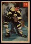 1954 Parkhurst #53  Cal Gardner  Front Thumbnail