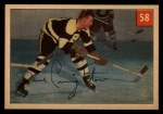 1954 Parkhurst #58  Dave Creighton  Front Thumbnail