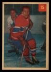 1954 Parkhurst #15  Floyd Curry  Front Thumbnail