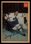 1954 Parkhurst #24  George Armstrong  Front Thumbnail