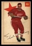1954 Parkhurst #46  Ted Lindsay  Front Thumbnail
