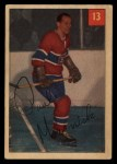 1954 Parkhurst #13  Paul Masnick  Front Thumbnail