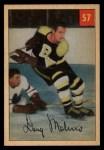 1954 Parkhurst #57  Doug Mohns  Front Thumbnail